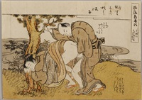 shunga by isoda koryusai