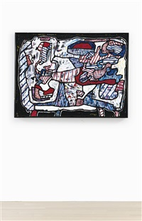 lampe et balance i by jean dubuffet