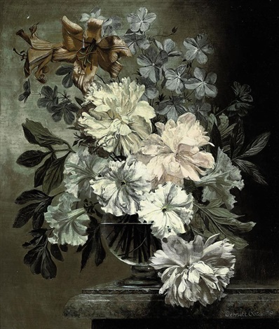 arrangement of peonies by bennett oates