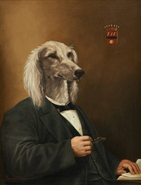 chien savant by thierry poncelet
