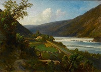 on the delaware river by hermann kraemer