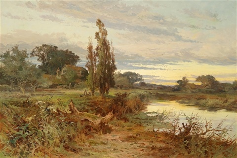 abendstimmung by john horace hooper