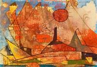 o.t. (abstrakte landschaft) by wilhelm imkamp