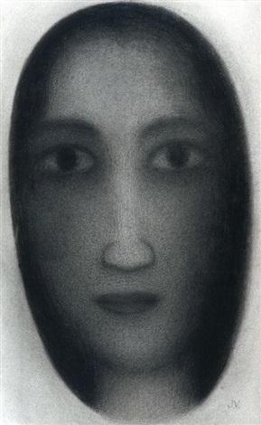 portrait of a woman by jules vermeire