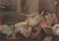 in the harem by umberto cacciarelli