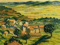 old farmstead, near gordes, provence by alan cotton