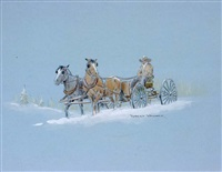 snow ride by robert wagoner