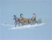 snow ride by robert wagoner