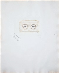 the critic sees (from ten from leo castelli portfolio) by jasper johns