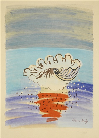 coquillage by raoul dufy