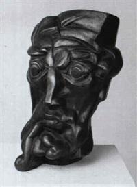 portraitkopf max pechstein by paul r. henning