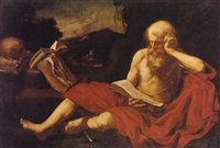 saint jerome by hendrick van somer