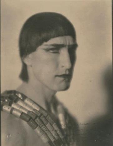portrait du danseur russe hubert julian stowitts by emil otto hoppé