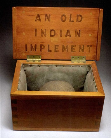 an old indian implement by horace clifford westermann