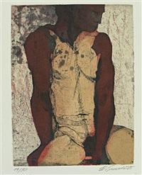 torso (portfolio of 9, incl. 2 etchings, w/colophon) by erich smodics
