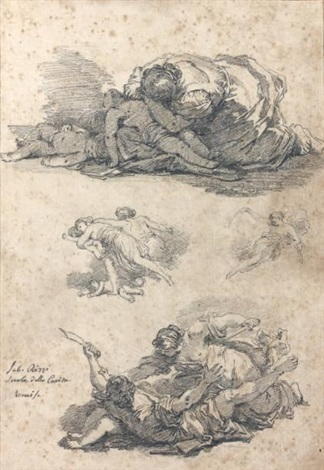 le massacre des innocents de sebastiano ricci by jean honoré fragonard
