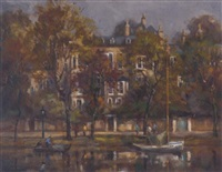 on the thames, richmond by m. j. rendall