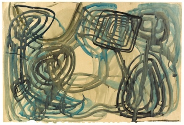 untitled abstract by john anthony tony tuckson