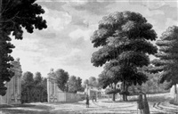 the lion's gate, hampton court by james spyers