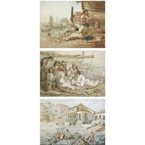 sketches of madeira (album of 77) by arthur abbott