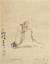 huang shen was one of the eight eccentrics of yangzhou by huang shen