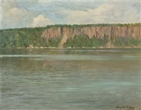 the palisades on the hudson by bayard henry tyler