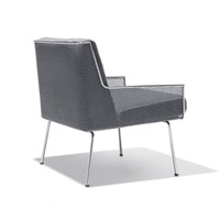 armchair from the inland steel company building, chicago by davis allen
