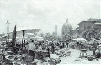 naschmarkt by theodor alphons