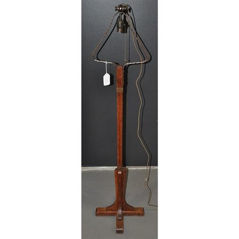 Floor lamp by Gustav Stickley on artnet