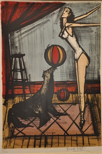 l'otarie by bernard buffet