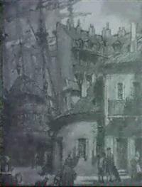 escena portuaria by oleg grosse