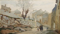 le chemin des chartreux by joseph marius hurard