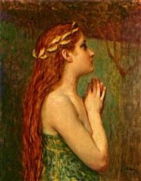 mädchen mit roten haaren by john quincy adams