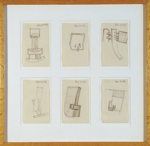 Untitled 5 others 6 sketches in one frame by Gabriel Kohn on artnet