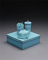 tiffany & co crispy chicken deluxe meal by tom sachs