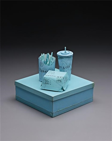 tiffany co crispy chicken deluxe meal by tom sachs