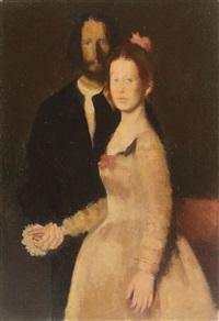 betrothed couple by corneliu antonescu