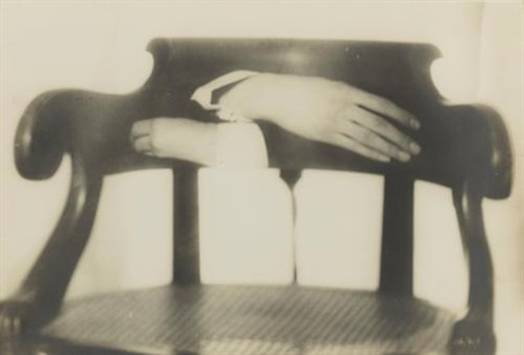 untitled hands and chair by man ray