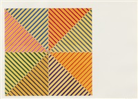 sidi ifni (from hommage a picasso) by frank stella