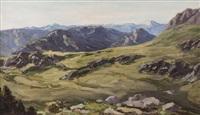 panoramablick auf die tiroler alpen und täler by max angerer