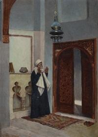 interno di moschea by cesare biseo