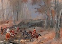 bien-aller au rallye bonnelles by karl andré jean (baron) reille