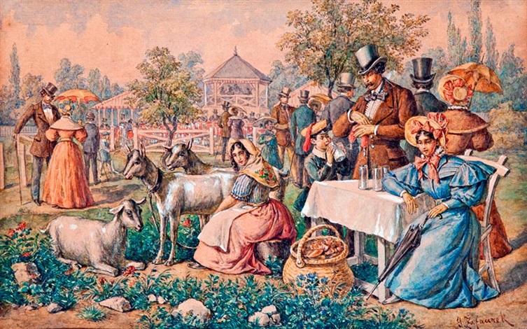 piknikezők by gustav zafaurek