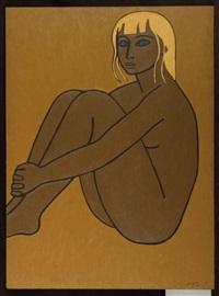 portrait de femme by jan yoors