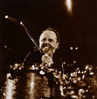 lars ulrich (metallica) by michael agel