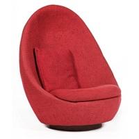 egg chair by milo baughman