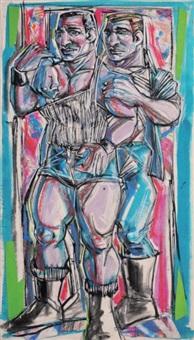 couple d'hommes by eric raspaut