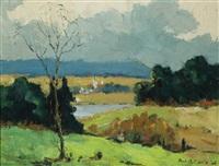 distant village by paul barnard earle