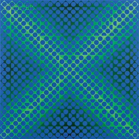 cta 120 portfolio w4 works by victor vasarely