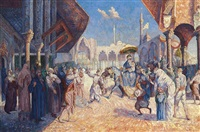 the arrival of the sultan by charles b. andréani